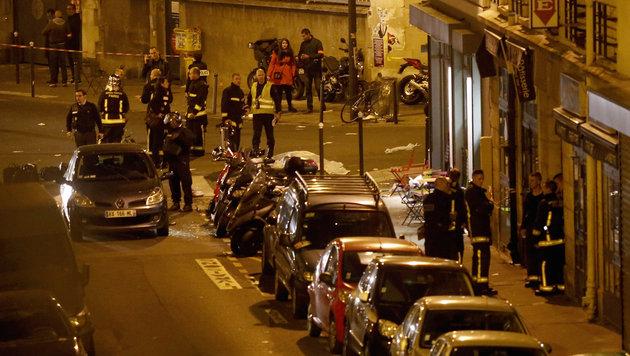 Terror-Wahnsinn in Paris: Europa im Schockzustand! (Bild: APA/AFP/FLORIAN DAVID)