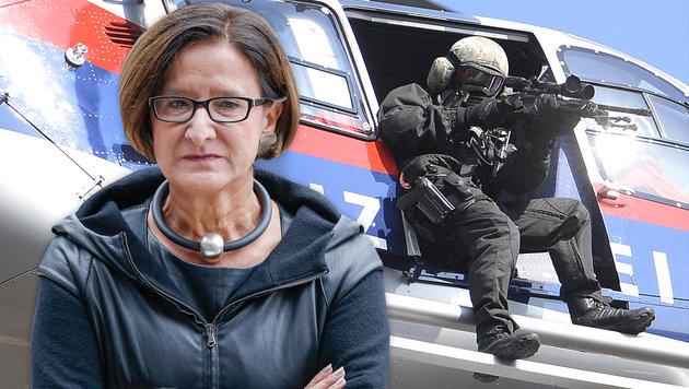 """""""Bieten Frankreich Unterstützung durch Cobra an"""" (Bild: APA/ROBERT JAEGER, APA/HERBERT NEUBAUER)"""