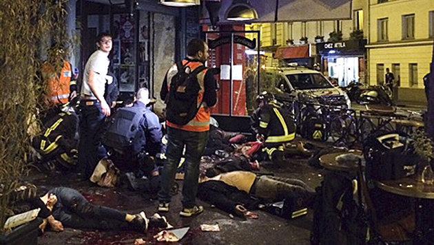 Terror-Wahnsinn in Paris: Europa im Schockzustand! (Bild: AP)