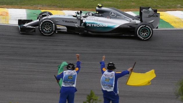 Rosberg nach GP-Sieg in Gedanken bei Paris-Opfern (Bild: AP)