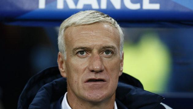 Frankreich-Coach Didier Deschamps (Bild: APA/EPA/IAN LANGSDON)