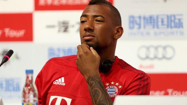 Bayern: Nach Müller auch Boateng vor Verlängerung (Bild: APA/EPA/WU HONG)