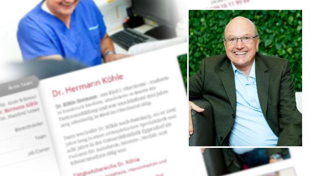 Hermann Köhle half dem Vater bei der Suche nach seinem Sohn. (Bild: Screenshot/medalp.com)