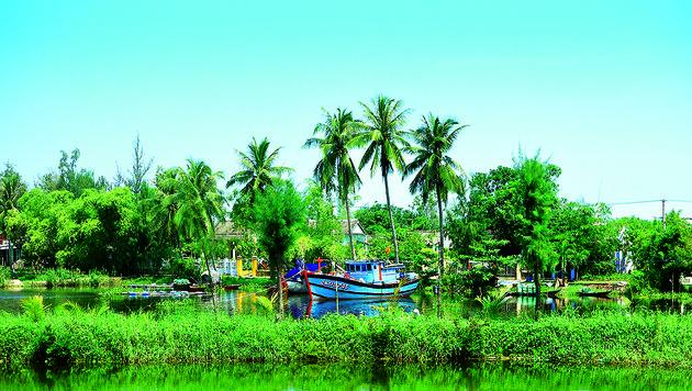 Im Mekongdelta leben die Menschen wie eh und je vom Wasser. (Bild: Franziska Trost)