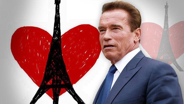 Paris-Terror: So reagierten die Stars im Netz (Bild: twitter.com, APA/EPA/YOAN VALAT)