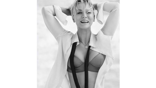 """So sexy zeigte sich Kaley Cuoco vor Kurzem im """"Shape""""-Magazin. (Bild: Viennareport)"""
