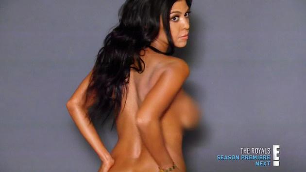 Auch Kim Kardashian sorgte bereits mit nackten Tatsachen für Schlagzeilen. (Bild: Viennareport)