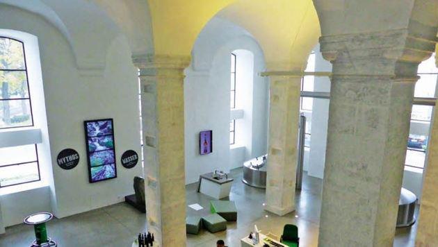 Im Brauhaus sind alle 105 Gewölbefelder erhalten. (Bild: Andrea Thomas)