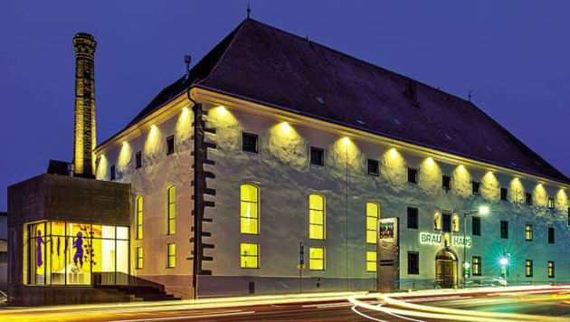 Das renovierte Brauhaus in Freistadt (Bild: Martin Pröll)