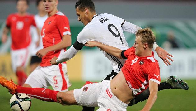 Österreich kassiert gegen Deutschland 2:4-Pleite (Bild: APA/EPA/DANIEL KARMANN)