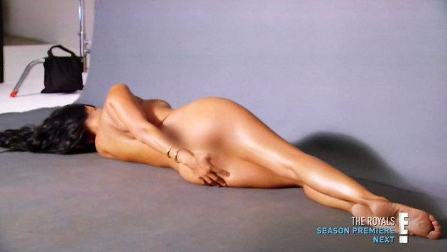 Kourtney Kardashian ließ die Hüllen fallen. (Bild: Viennareport)