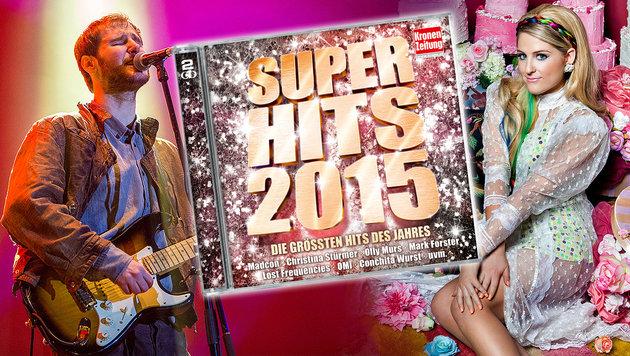 """""""Krone Super Hits"""": Die besten Songs des Jahres (Bild: Sony Music, APA/Marc Mueller)"""