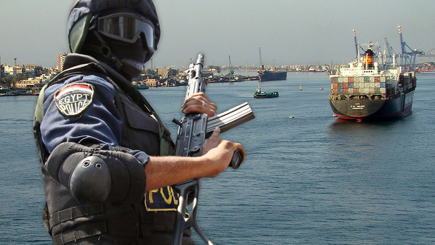 """Österreicher in Ägypten als """"Spion"""" verhaftet (Bild: KHALED ELFIQI/EPA/picturedesk.com, Wikipedia)"""