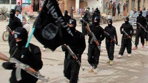 """30.000 """"ausländische Terroristen"""" im Irak & Syrien (Bild: AP)"""