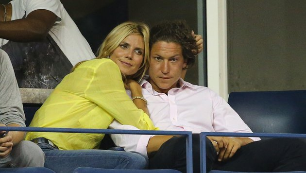 Heidi Klum und Vito Schnabel (Bild: AFP)