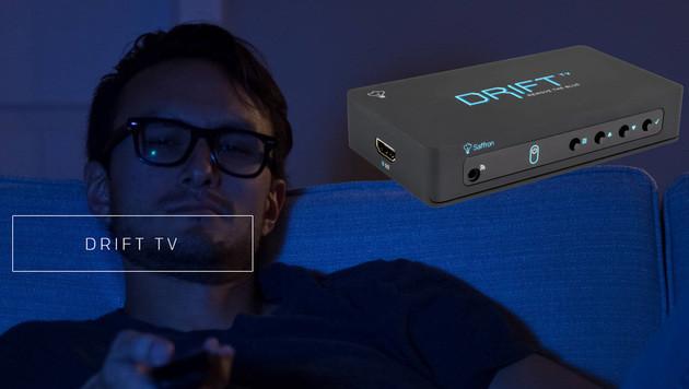 """""""Drift TV"""" lässt TV-Seher besser schlafen (Bild: seesaffron.com)"""