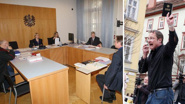 Gerichtliches Nachspiel für Pegida-Redner (51) (Bild: Sepp Pail, Jürgen Radspieler)