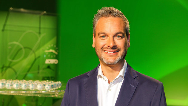 """6 aus 45""-Moderator Thomas May (Bild: ORF)"