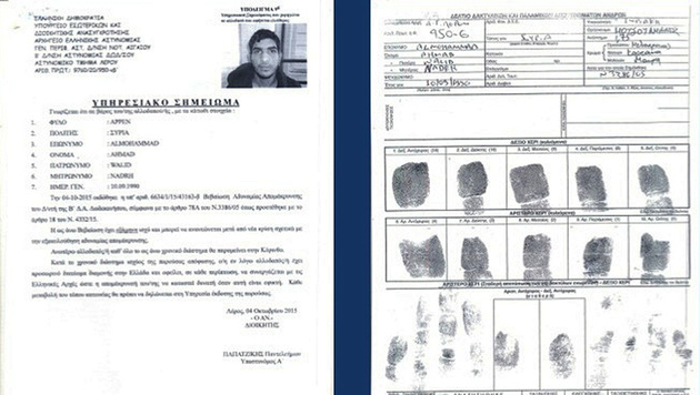Bereits in Griechenland wurden Ahmad al Mohammads Fingerabdrücke registriert. (Bild: AP)
