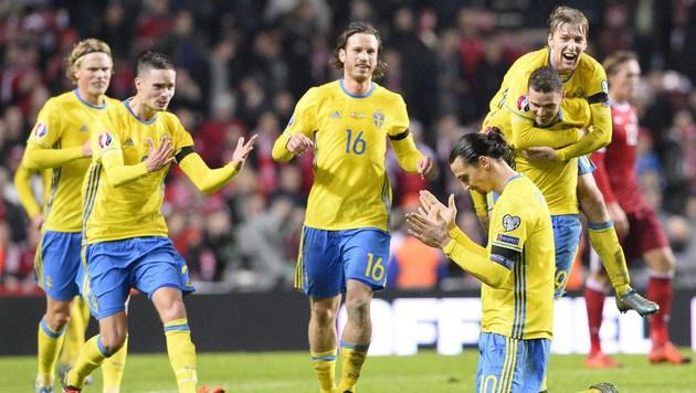 "Ibrahimovic: ""Habe ihr Land in Pension geschickt"" (Bild: APA/AFP/JONATHAN NACKSTRAND)"