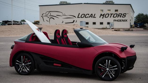 US-Firma will Autos drucken, schmelzen, neu machen (Bild: Local Motors)