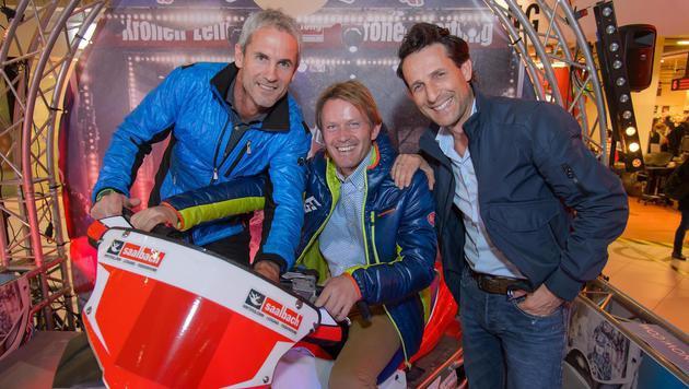 Michael Konsel, Andy Wernig und Tom Walek (Bild: Andreas Tischler)