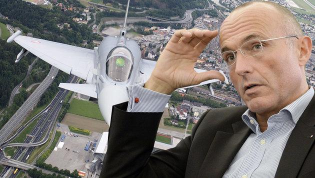 """""""System Eurofighter"""" nur noch 5 Jahre in der Luft? (Bild: APA/HERBERT NEUBAUER, APA/BMLV/ZINNER)"""