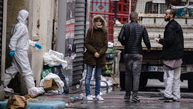 Seit 1970: Die Blutspur des Terrors durch Europa (Bild: APA/EPA/CHRISTOPHE PETIT TESSON)