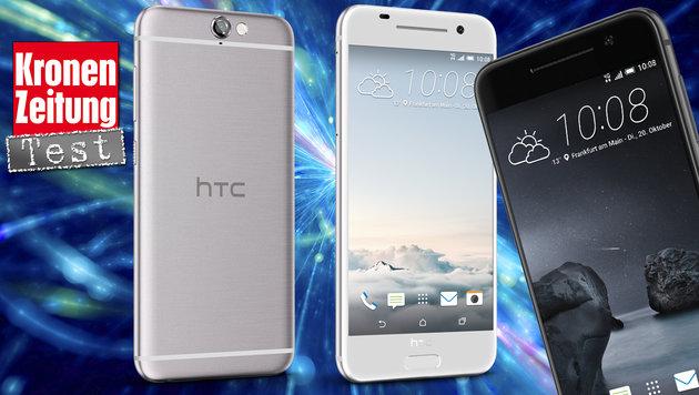 HTC One A9: Bringt die Alu-Schönheit die Wende? (Bild: HTC, thinkstockphotos.de)