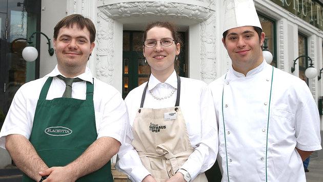 Stefan Musil, Laura Kautny und Jakob Kornberger (Bild: Zwefo)