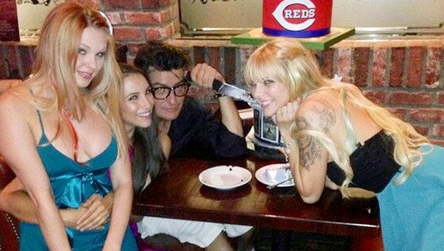 Sheen gab 1,6 Mio. $ pro Jahr für Callgirls aus (Bild: Viennareport)