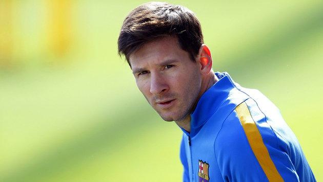 Nierenkolik! Messi fehlt FC Barcelona bei Club-WM (Bild: APA/EPA/ALEJANDRO GARCIA)