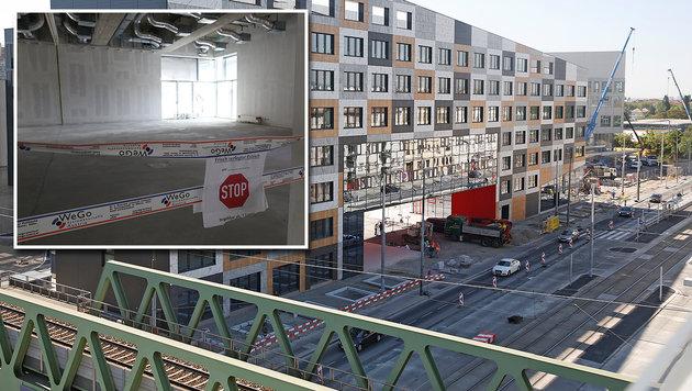 Die Baupannen beim Krankenhaus Nord will die FPÖ untersuchen lassen. (Bild: Martin Jöchl, Gerhard Bartel)