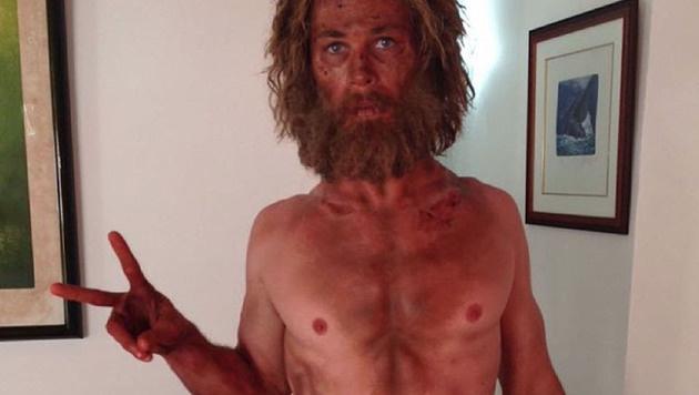 Chris Hemsworth hat für seine neue Rolle ordentlich an Gewicht verloren. (Bild: Viennareport)