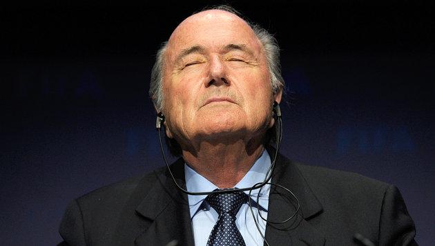 Blatter & FIFA-Duo bereicherten sich um 79 Mio.! (Bild: AP)