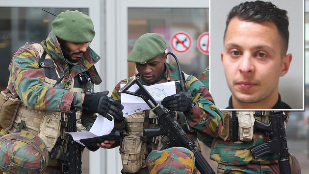 Paris-Terrorist Salah Abdeslam in Belgien gefasst (Bild: AFP, AP)