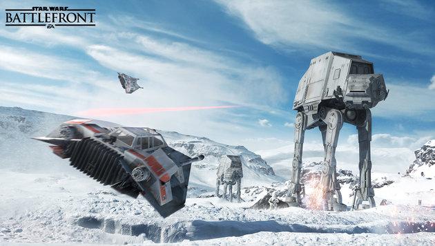 """""""So genial ist das neue """"Star Wars Battlefront"""" (Bild: EA)"""""""