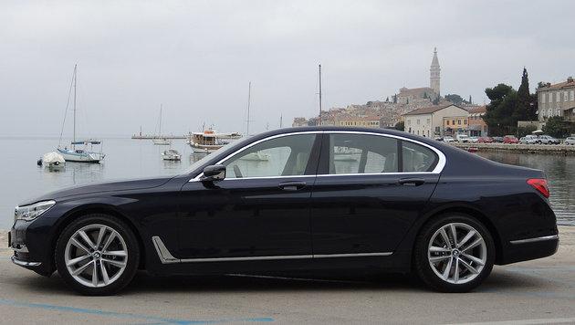 BMW 750i: First Class auf Italienreise in Istrien (Bild: Stephan Schätzl)