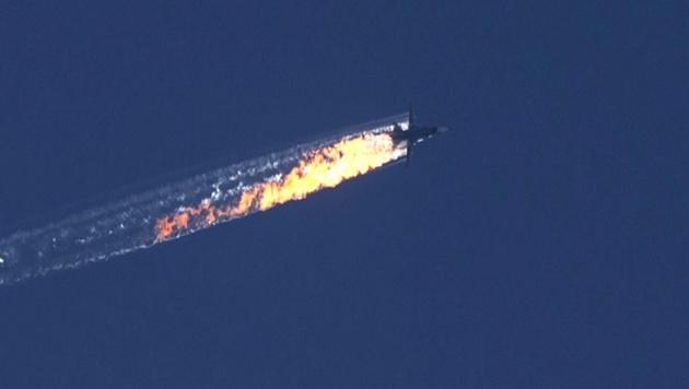 Kampfjet-Abschuss: Türkei will Russen entschädigen (Bild: APA/EPA/HABERTURK TV CHANNEL)