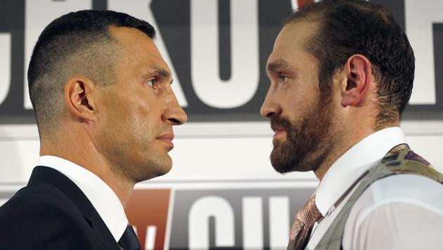 """Klitschko bezeichnet Gegner Fury als """"Patient"""" (Bild: AP)"""
