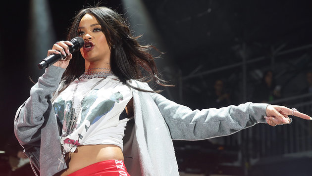 """Krone"" holt Pop-Superstar Rihanna nach Wien! (Bild: APA/EPA/Steve C Mitchell)"