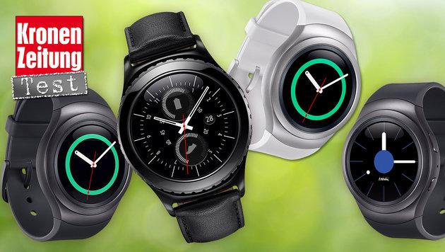 Samsung Gear S2: Die bislang smarteste Smartwatch (Bild: Samsung, thinkstockphotos.de)