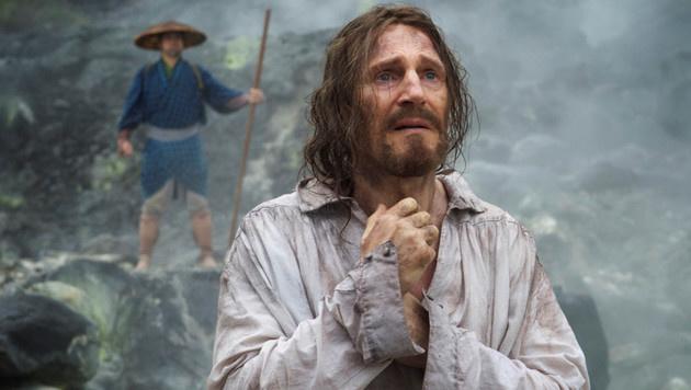 """Für seine Rolle in """"Silence"""" musste Liam Neeson zehn Kilo abnehmen. (Bild: Viennareport)"""
