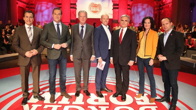 """Aufregung um TV-Auftritt von """"Identitären""""-Chef (Bild: ORF)"""