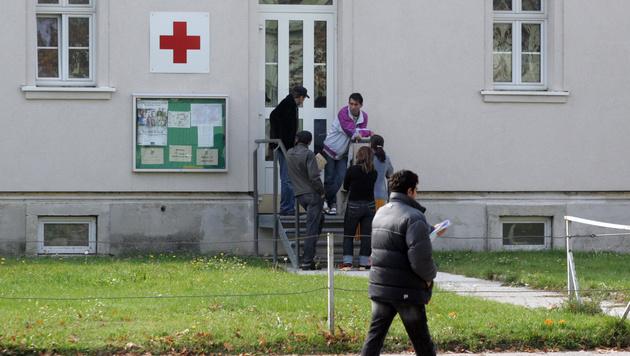 Die Krankenstation in Traiskirchen (Bild: Andreas Schiel)