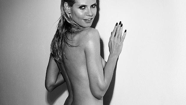 Sehr sexy! Diesen heißen Schnappschuss postete Heidi Klum auf ihre Instagram-Seite. (Bild: instagram.com/heidiklum)
