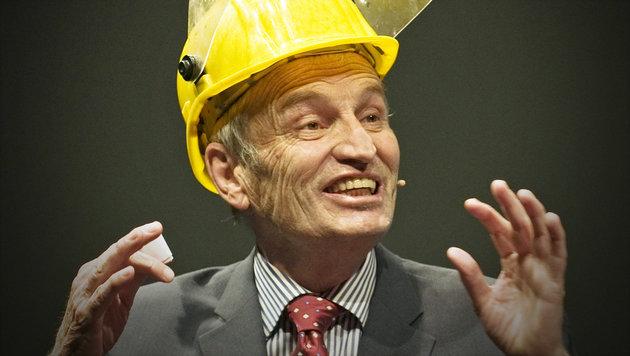 """""""Science Buster"""" Heinz Oberhummer gestorben (Bild: ORF/Hannelore Tiefenthaler)"""