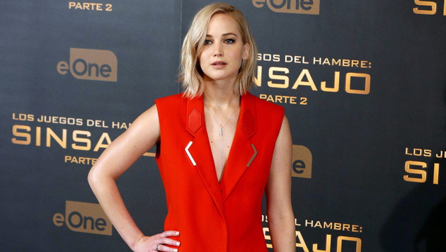 Jennifer Lawrence (Bild: APA/EPA/SERGIO BARRENECHEA)