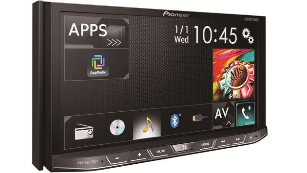 Pioneer Mixtrax: Android-Kit fürs Auto ausprobiert (Bild: Pioneer)