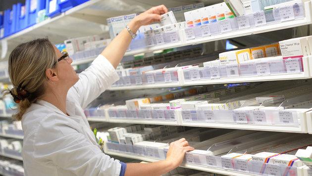 Ärztekammer ortet Lieferprobleme bei Medikamenten (Bild: APA/Barbara Gindl)